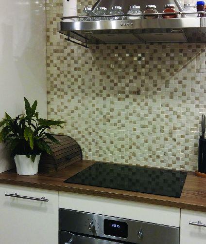 Mozaik csempe - DCO-Paloma - üvegmozaik