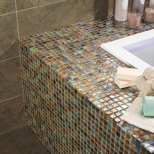 Mozaik csempe - Dune Argus - üvegmozaik