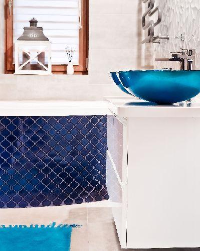 ASGOS-mini s.kék mázas arabesco