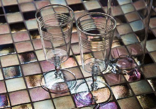 Mozaik csempe - DCH-Flamenco - üvegmozaik