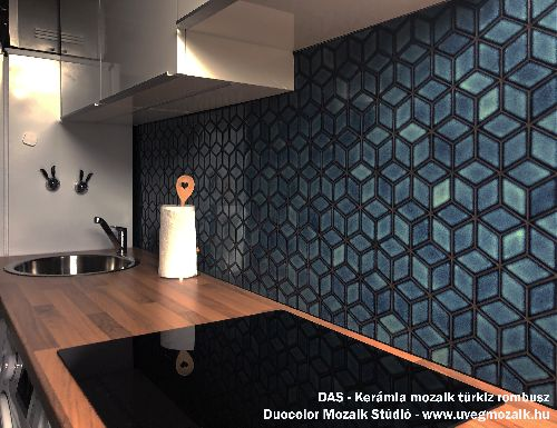 Mozaik csempe - DAS - üvegmozaik