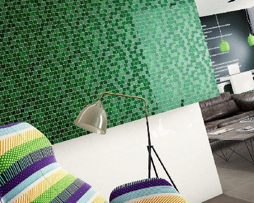 Mozaik csempe - Dune Alegria - üvegmozaik