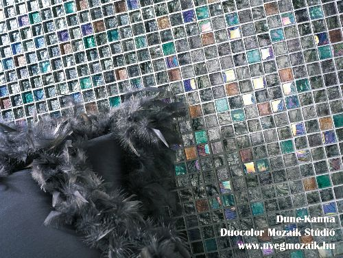 Mozaik csempe - dune kanna - üvegmozaik