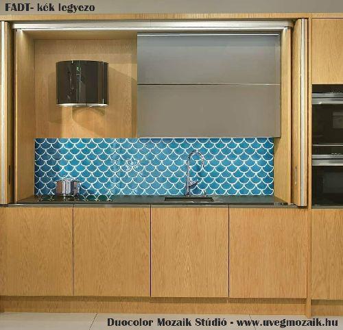 Mozaik csempe - FADT - üvegmozaik