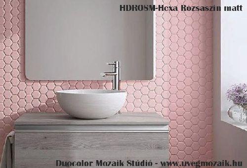 Mozaik csempe - HDROSM - üvegmozaik