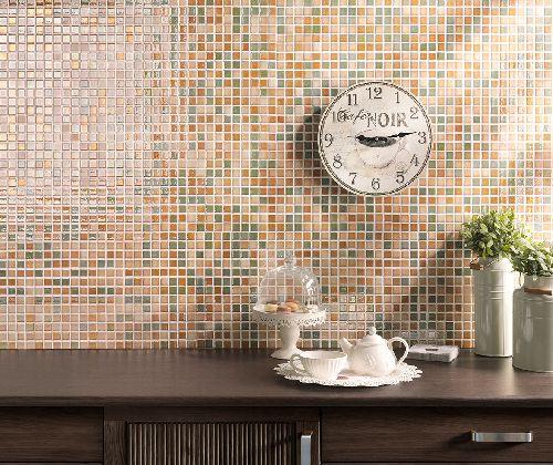 Mozaik csempe - LIBIA - üvegmozaik