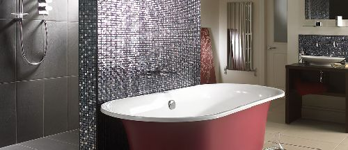Mozaik csempe - Antracit Black Akciós - üvegmozaik