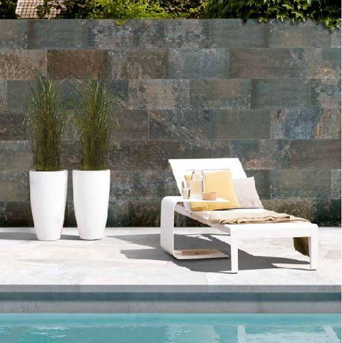 Mozaik csempe - Rosa Gres / Pietro csúszásmetntes terasz és medenceburkolat - üvegmozaik