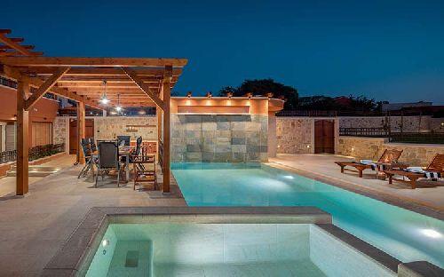 Mozaik csempe - Rosa Gres / SERENA MIX csúszásmentes terasz és medenceburkolat  - üvegmozaik