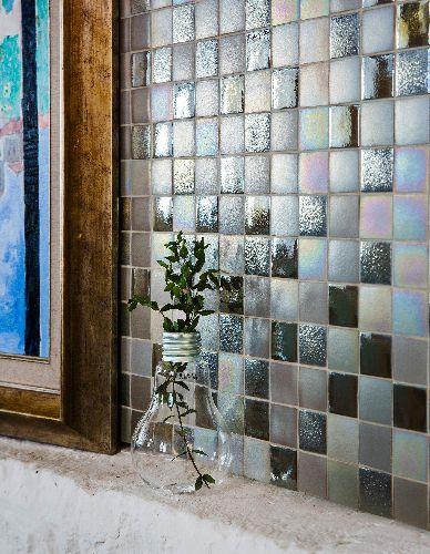Mozaik csempe - DCH-Twist - üvegmozaik